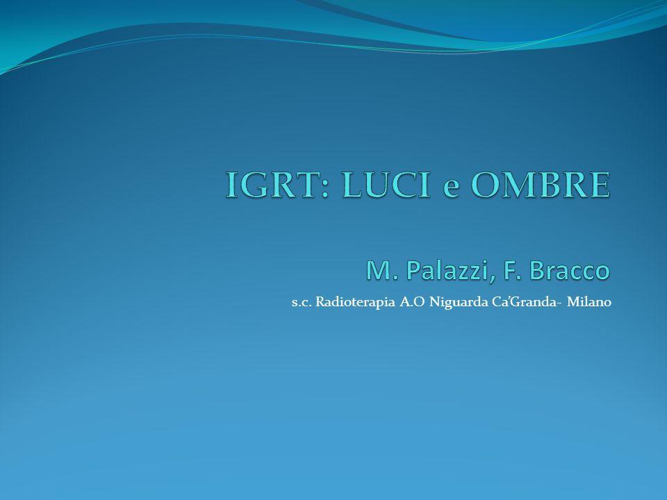 s.c. Radioterapia A.O Niguarda CaGranda- Milano