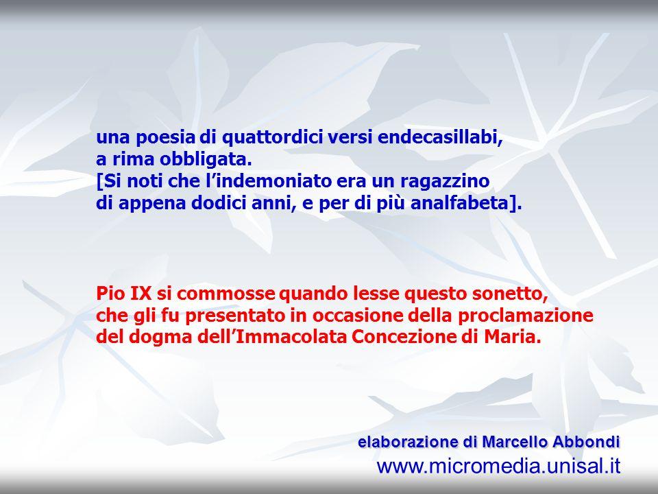 nel 1823, ad Ariano Irpino (Avellino), due celebri predicatori domenicani – p. Cassiti e p. Pignataro – furono invitati ad esorcizzare un ragazzo. All