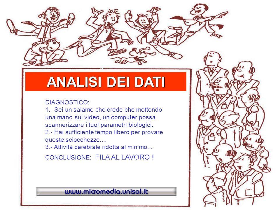 02:01 WinHealth 1.0 ANALISI DEI DATI Pressione : Normale Scan cerebrale 3 neuroni rilevati.