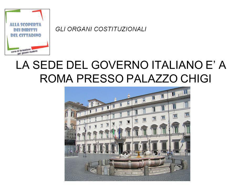 GLI ORGANI COSTITUZIONALI Egli dura in carica sette anni ed i requisiti per essere eletti sono: cittadinanza italiana, possesso dei diritti politici ed ed avere compiuto 50 anni di età.