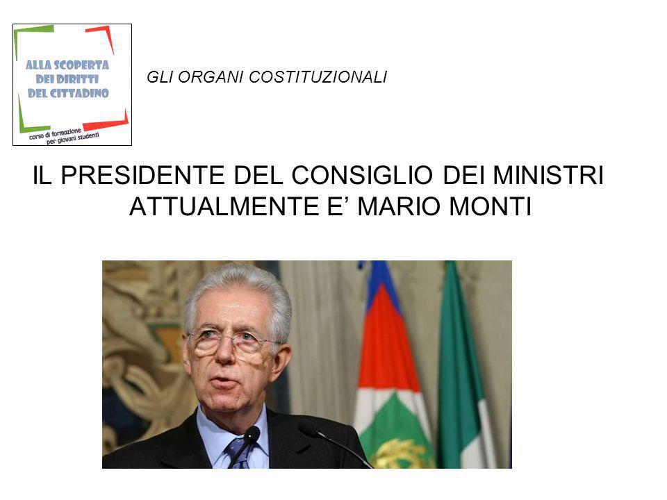 GLI ORGANI COSTITUZIONALI Per essere nominato i requisiti essenziali sono la cittadinanza Italiana, il godimento dei diritti politici e la maggiore età.