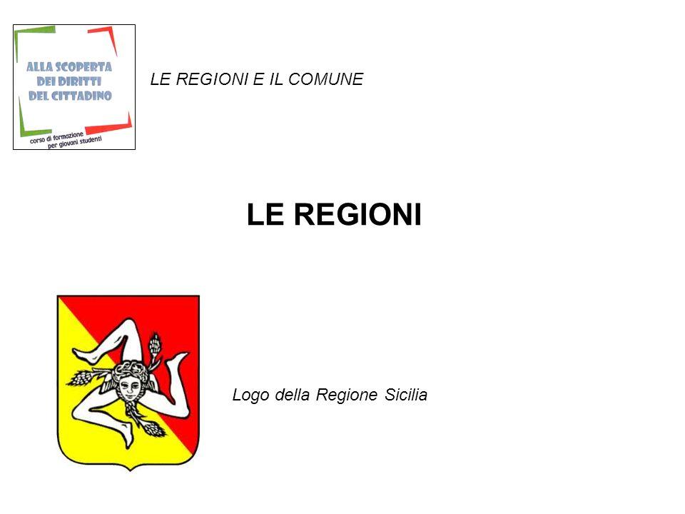 LE REGIONI Logo della Regione Sicilia