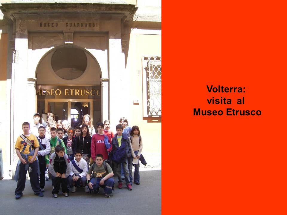 Volterra: visita al Museo Etrusco