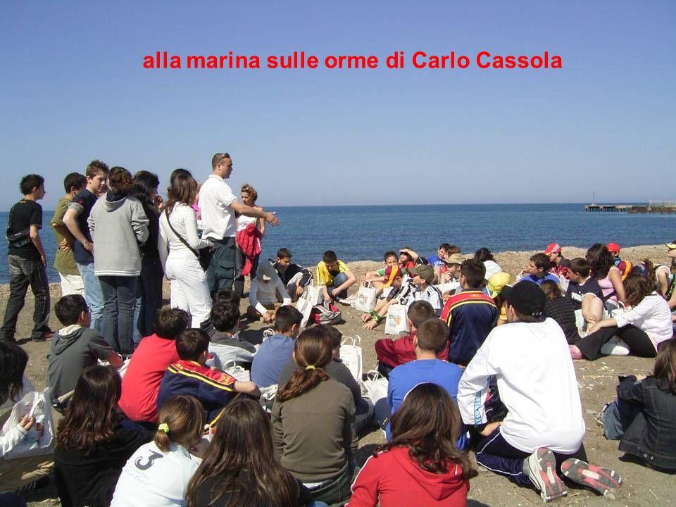 alla marina sulle orme di Carlo Cassola