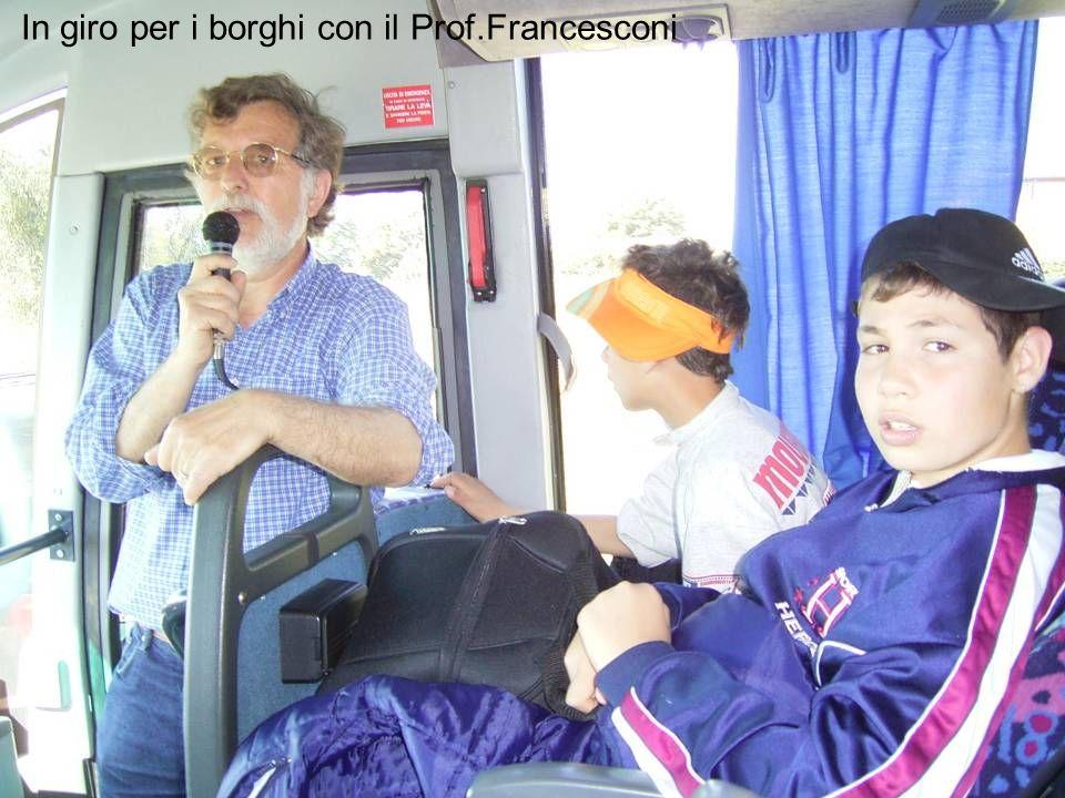 In giro per i borghi con il Prof.Francesconi