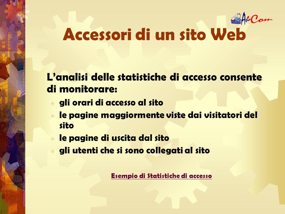 Strumenti di un sito Web Motori di ricerca www.google.it; www.virgilio.it; www.yahoo.it; www.google.itwww.virgilio.itwww.yahoo.it La ricerca professionale su motori di ricerca avviene per informazioni sul prodotto e sulla tipologia di azienda.