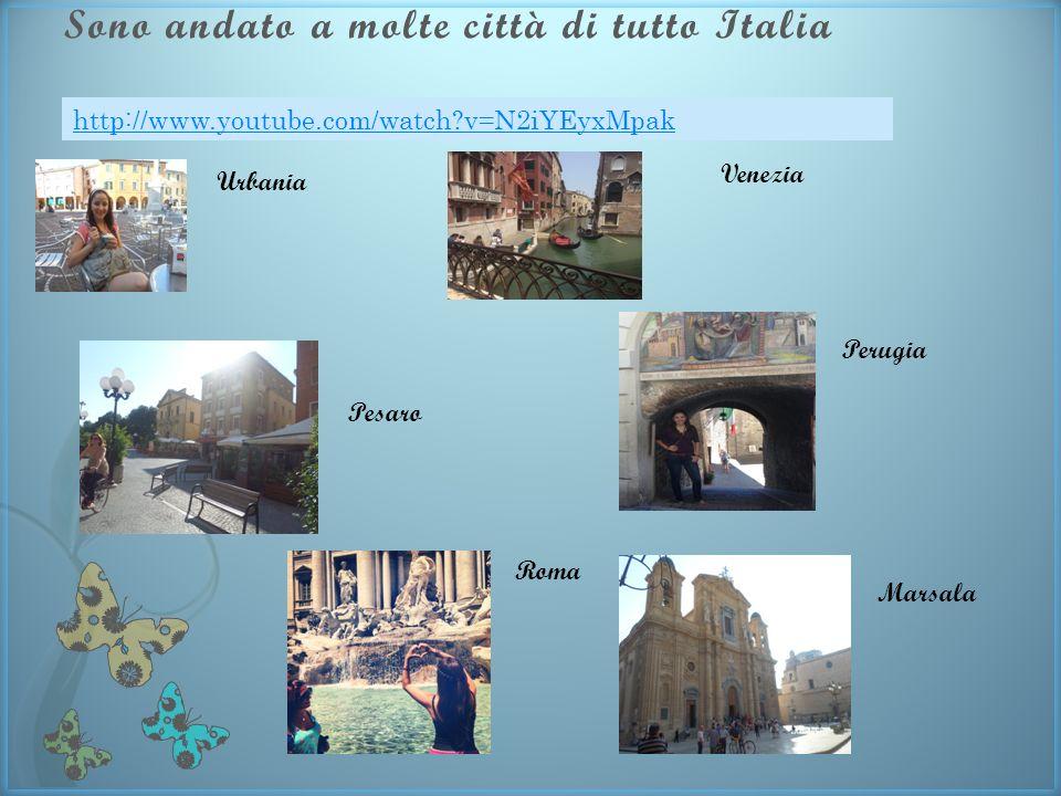Sono andato a molte città di tutto Italia Urbania Pesaro Venezia Roma Perugia Marsala http://www.youtube.com/watch v=N2iYEyxMpak