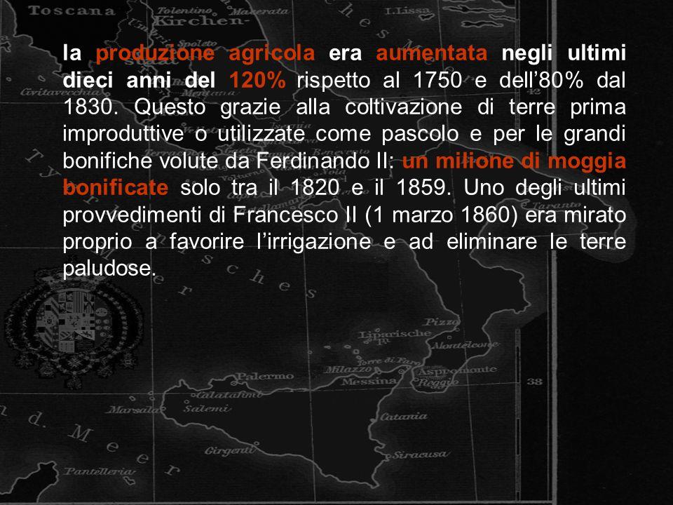 Il 29 gennaio del 1848, Ferdinando II fu il primo sovrano italiano a concedere la Costituzione (promulgata il 10 febbraio), pressato, comera, da una grave rivolta indipendentista siciliana, iniziata alla fine del 1847, e dalle istanze sempre più incessanti dei liberali napoletani.