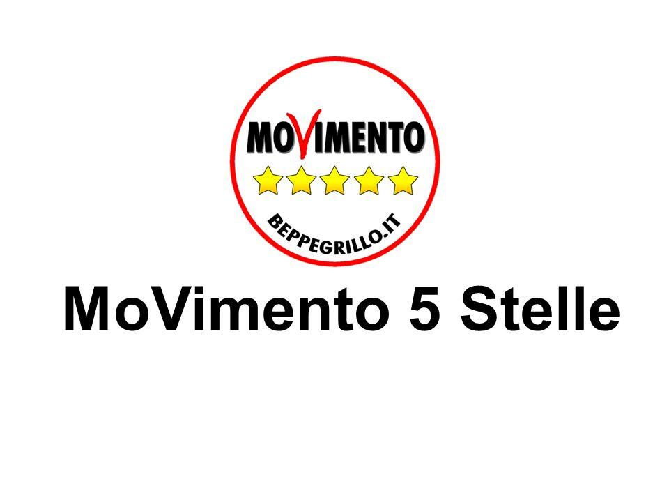 Tutte le liste 5 Stelle 140 liste 6 Regioni: Emilia Romagna Piemonte Veneto Campania Val DAosta Organizzazione