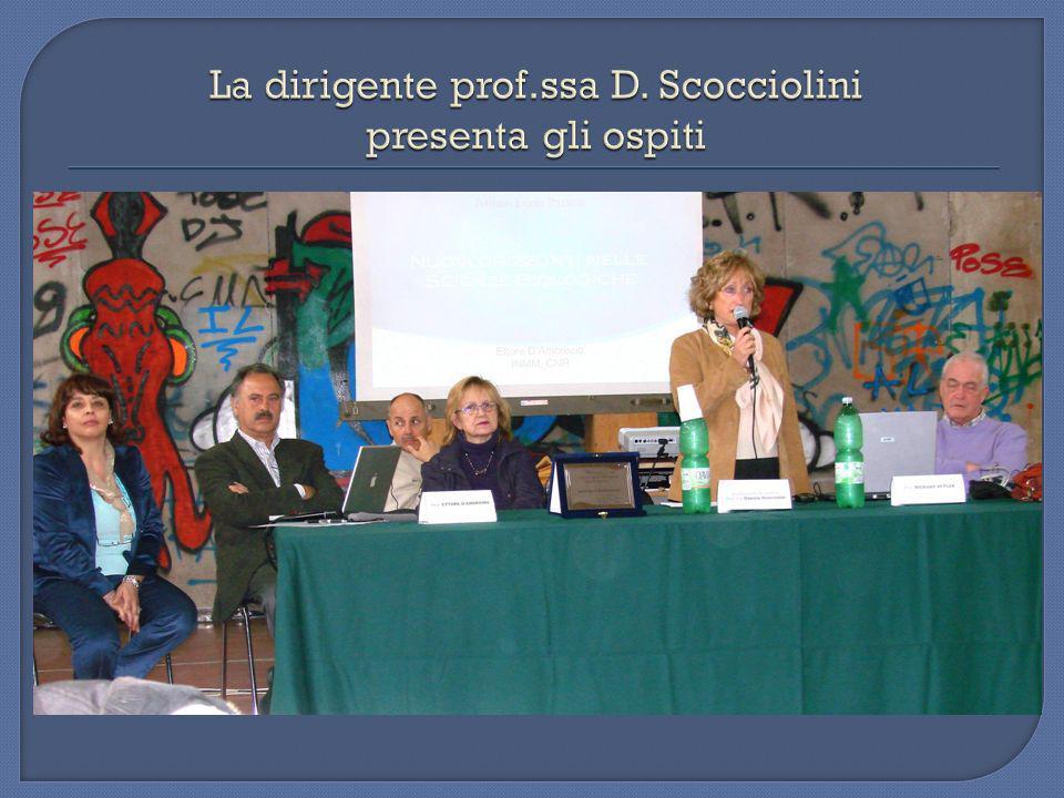 16 Aprile 2009 Nuovi Orizzonti nelle Scienze Biologiche proff.