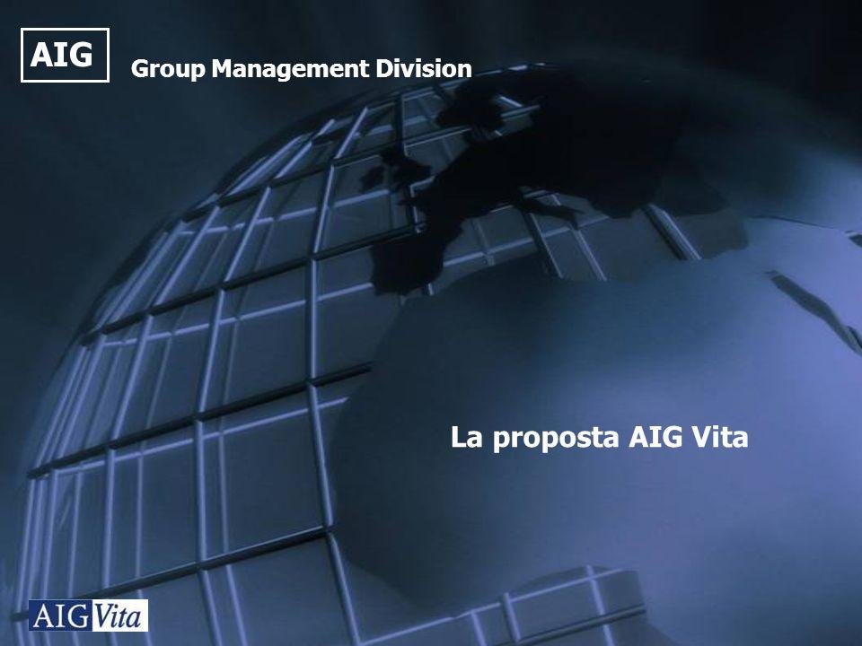 AIG Group Management Division La proposta AIG Vita