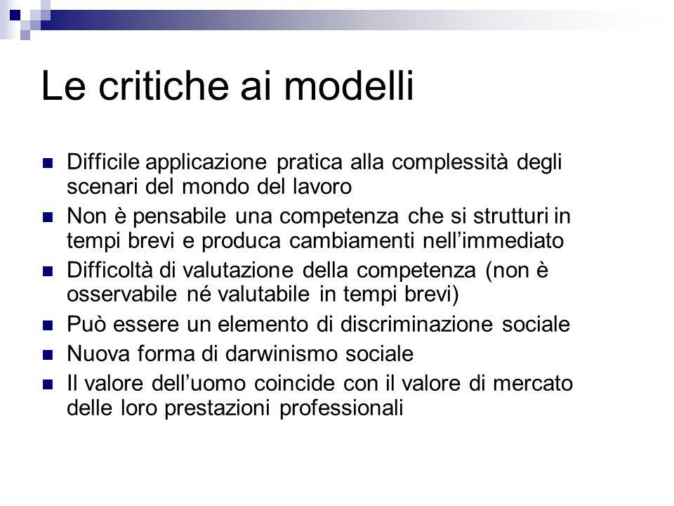 Modello pedagogico di competenza