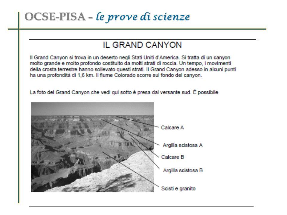 OCSE-PISA – le prove di scienze