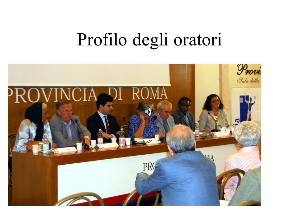 Profilo degli oratori