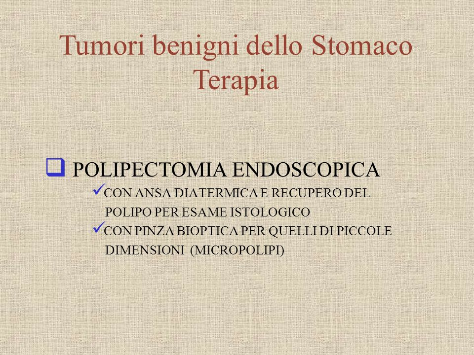 Carcinoma Gastrico può essere diviso in: EARLY GASTRIC CANCER (EGC) ADVANCED CANCER