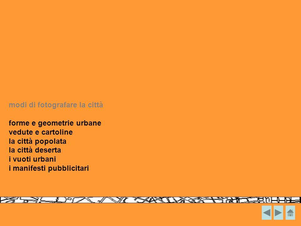 forme e geometrie urbane