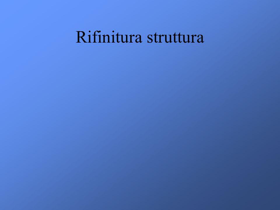 Rifinitura struttura