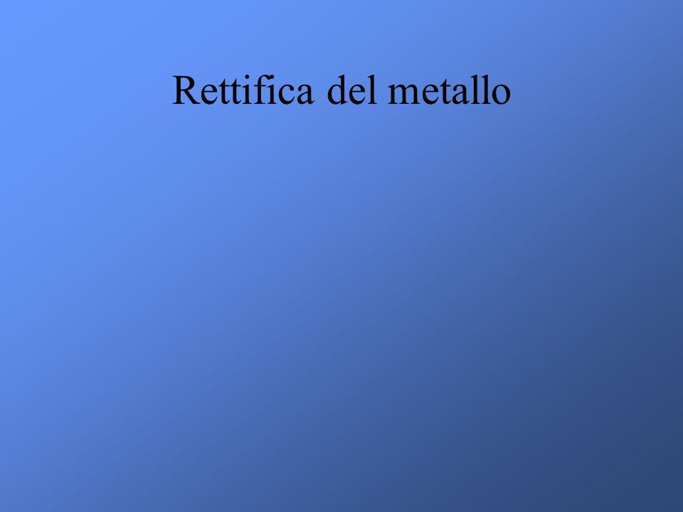 Rettifica del metallo