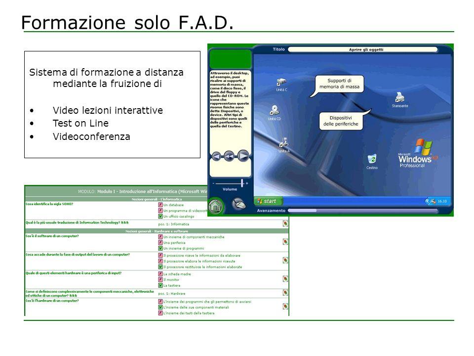 Formazione Aula+F.A.D.