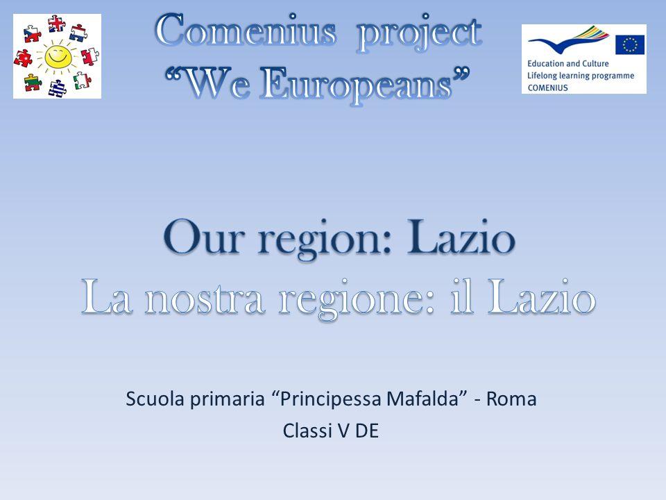Scuola primaria Principessa Mafalda - Roma Classi V DE