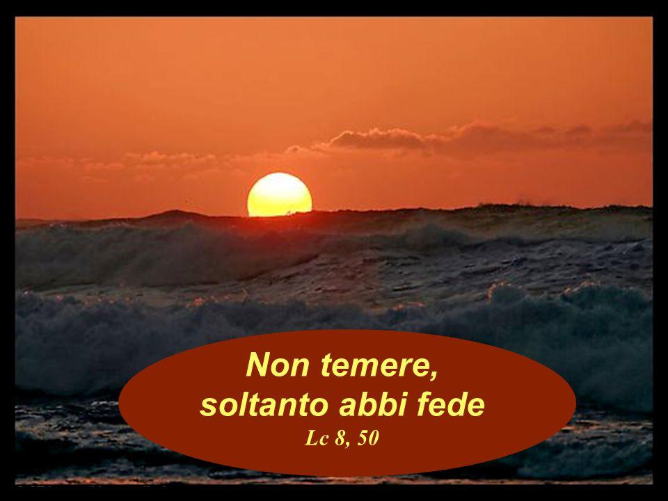 Non temere, soltanto abbi fede Lc 8, 50