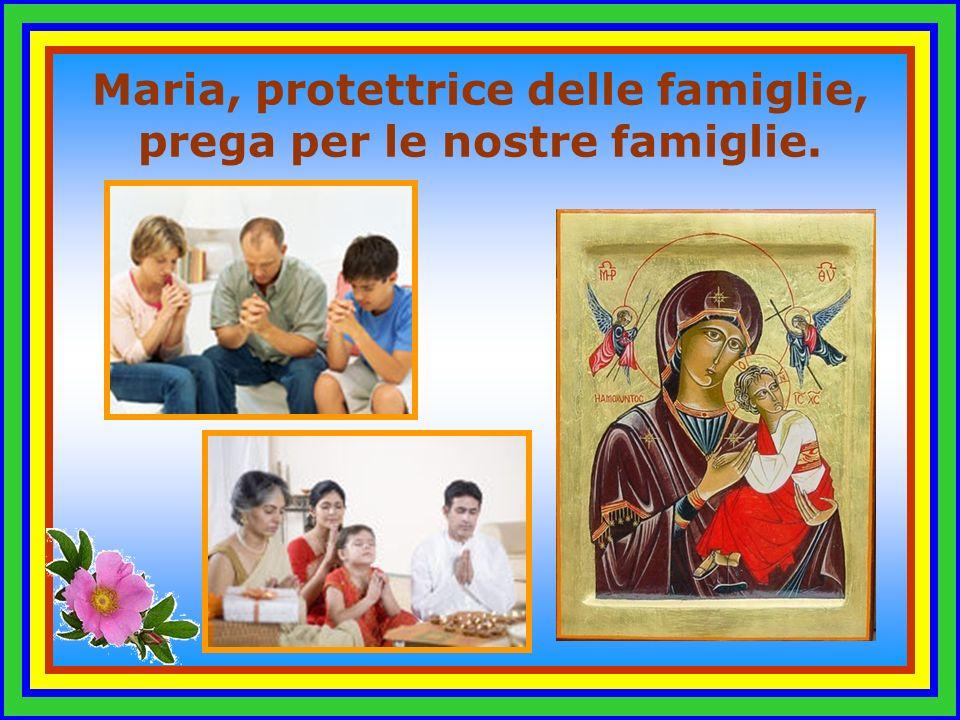 Maria, Vergine obbediente, Vergine santissima, Vergine orante, prega per me !