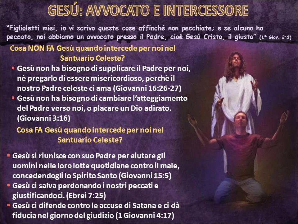 Quale differenza esiste tra il ministero intercessore e il ministero mediatore di Gesù.