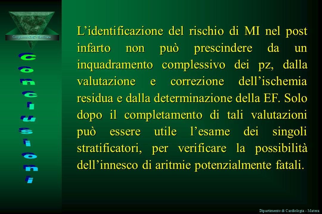 Congresso AIAC - Basilicata Dipartimento di Cardiologia - Matera