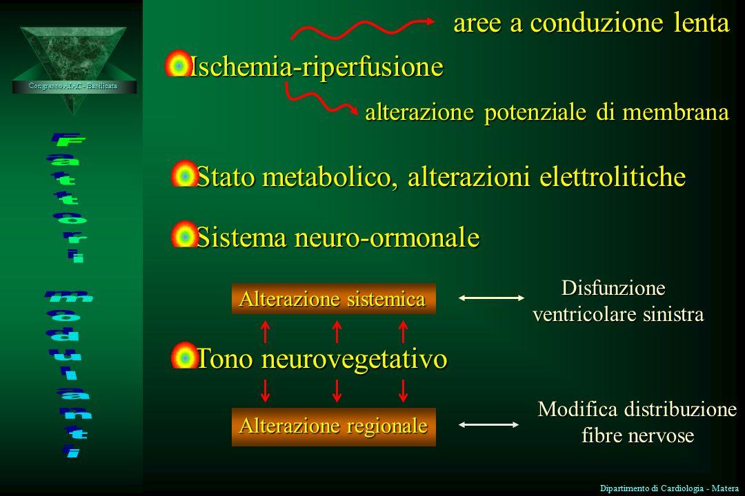 16 ore 31 ore 3 giorni 7 giorni 14 giorni 10 mesi Zone di attivazione lenta e disomogenea miocardio ibernato Rimodellamento ventricolare scivolamento