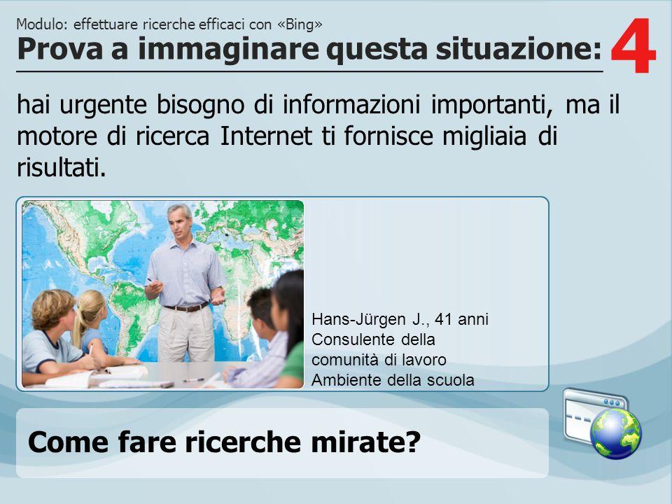 4 hai urgente bisogno di informazioni importanti, ma il motore di ricerca Internet ti fornisce migliaia di risultati.