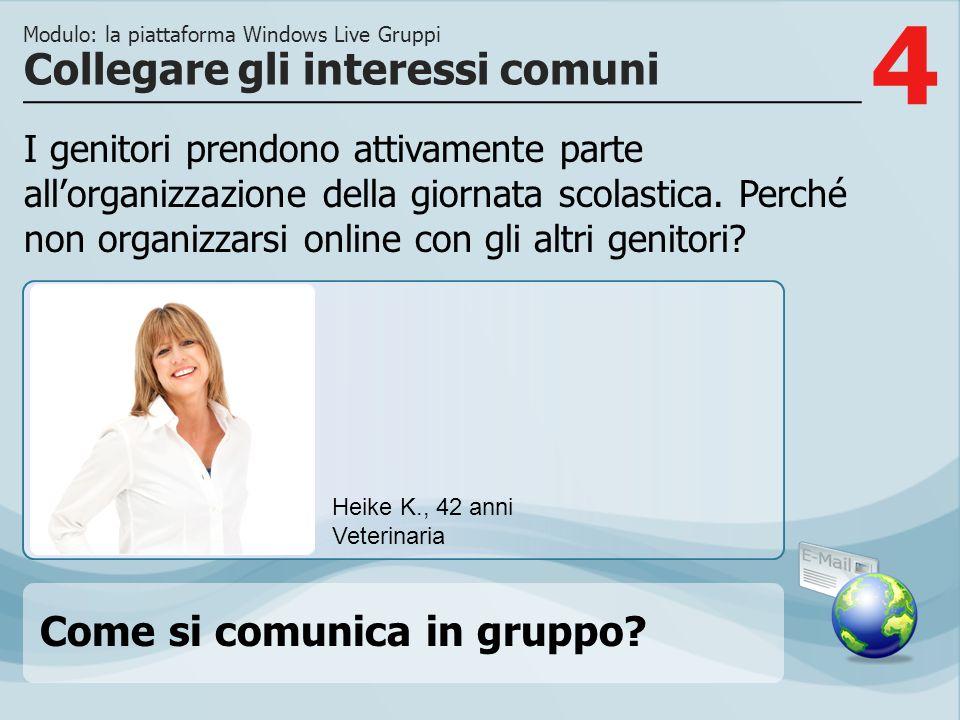 5 Opzione 1 Sulla pagina groups.live.com è possibile creare nuovi gruppi con il comando Crea un gruppo.