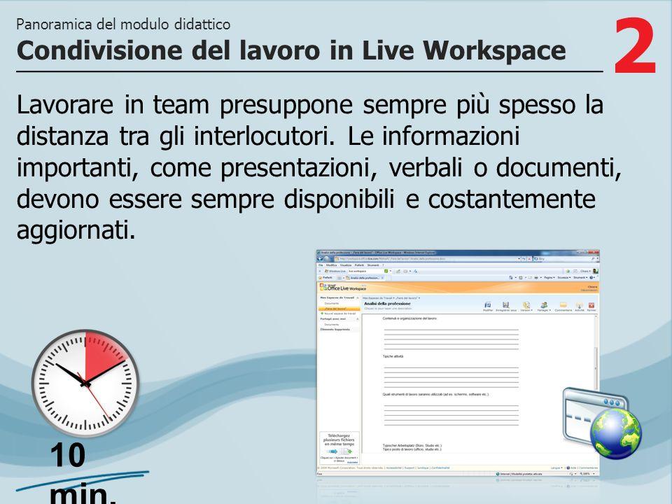 3 >> quali categorie di utenti possono avervi accesso e come archiviare e aggiornare i documenti nel tuo spazio di lavoro.