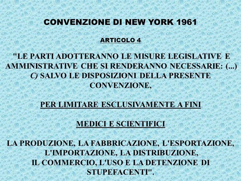 A R T I C O L O 4 ISTITUISCE UNA COMMISSIONE DI ESPERTI (ITALIANI E STRANIERI) CHE DOVRÀ REDIGERE UN RAPPORTO SULLO STATO DELLE CONOSCENZE MEDICO-SCIENTIFICHE RELATIVE AI CANNABINOIDI NATURALI E DI SINTESI.