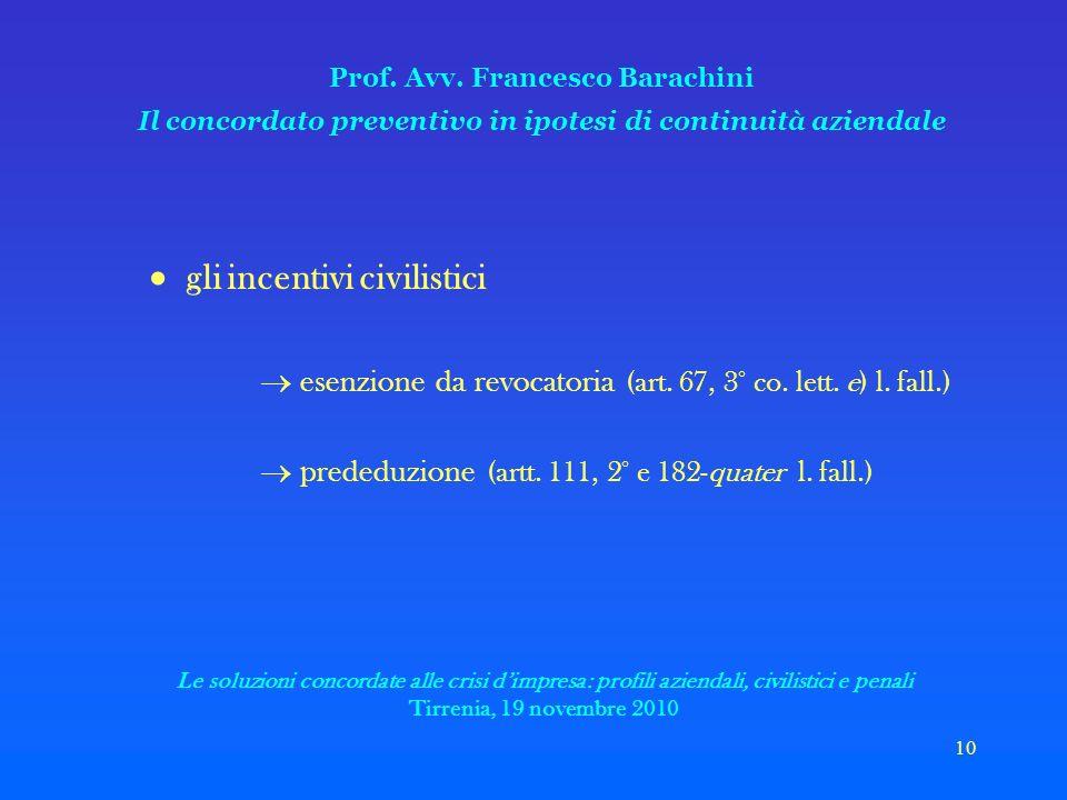 10 Prof. Avv.