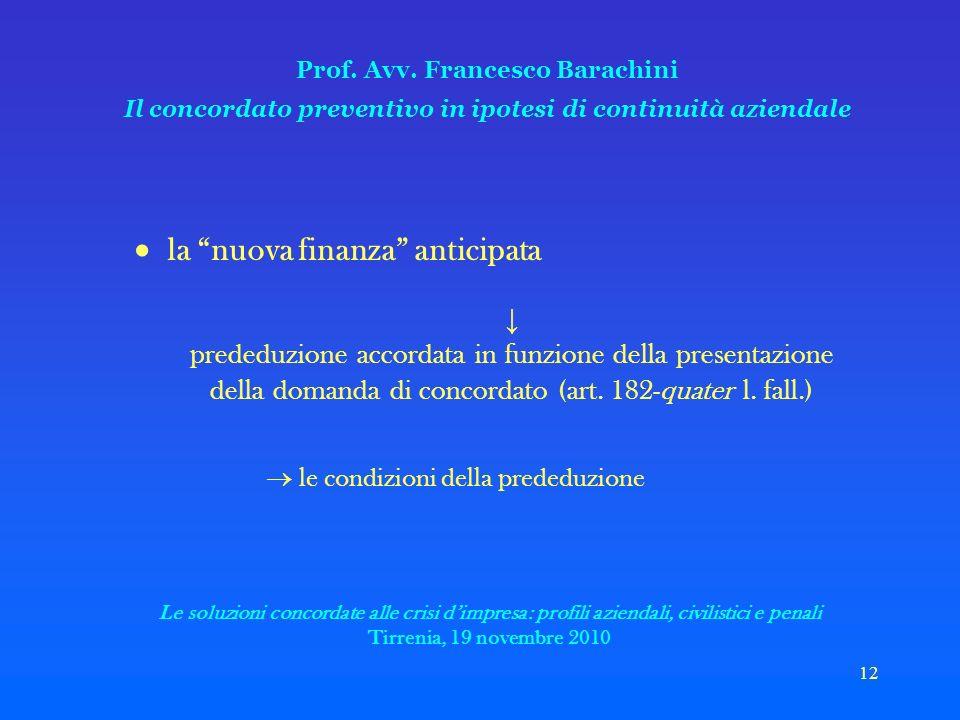 12 Prof. Avv.