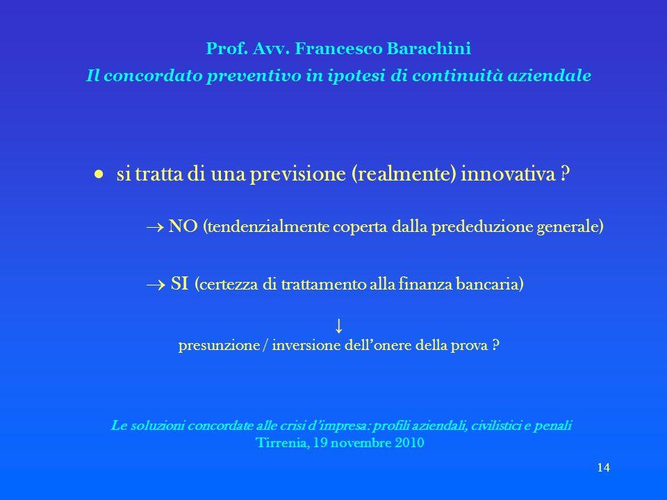 14 Prof. Avv.