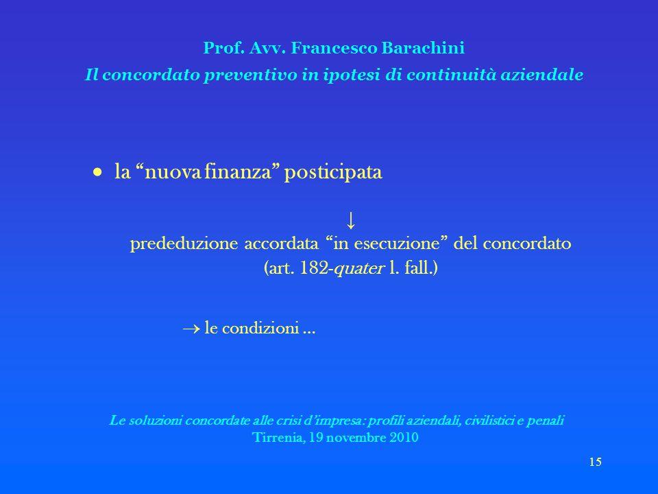 15 Prof. Avv.