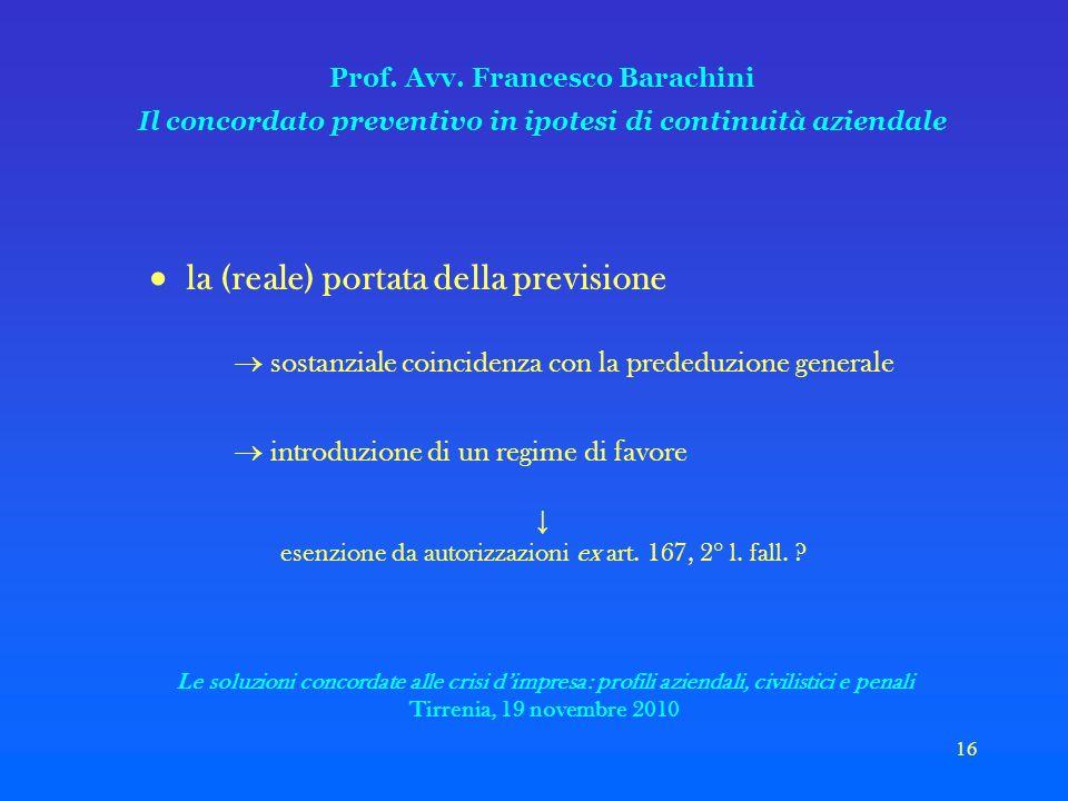 16 Prof. Avv.