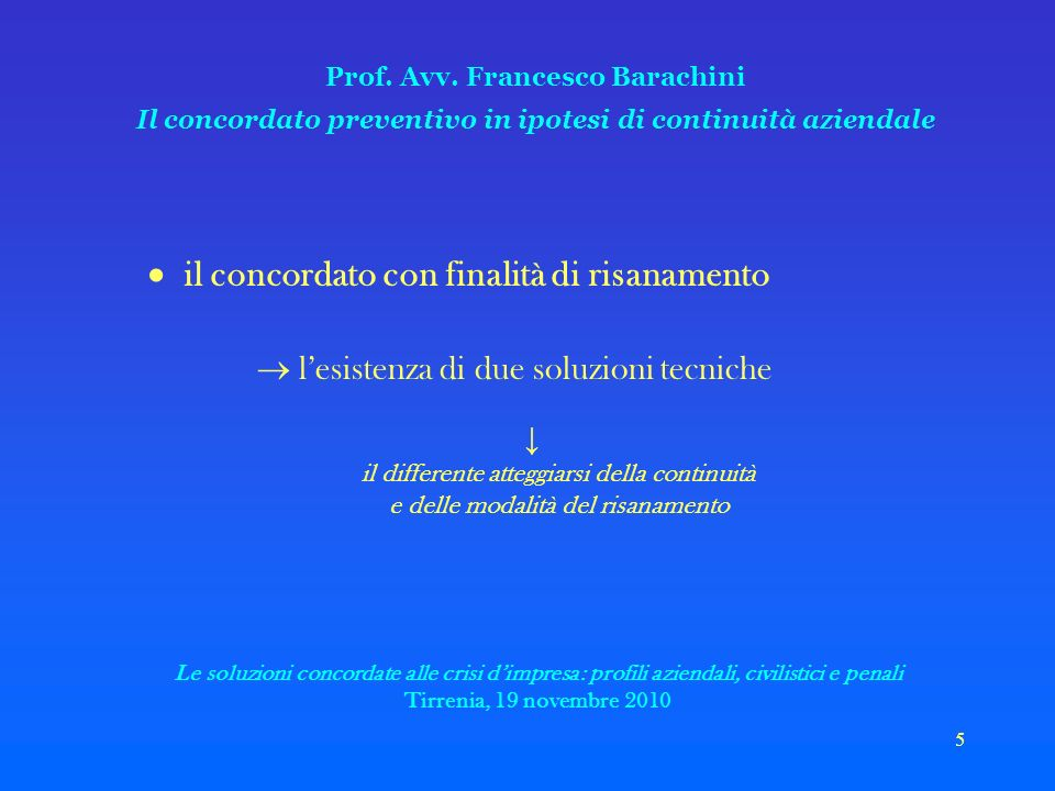 5 Prof. Avv.