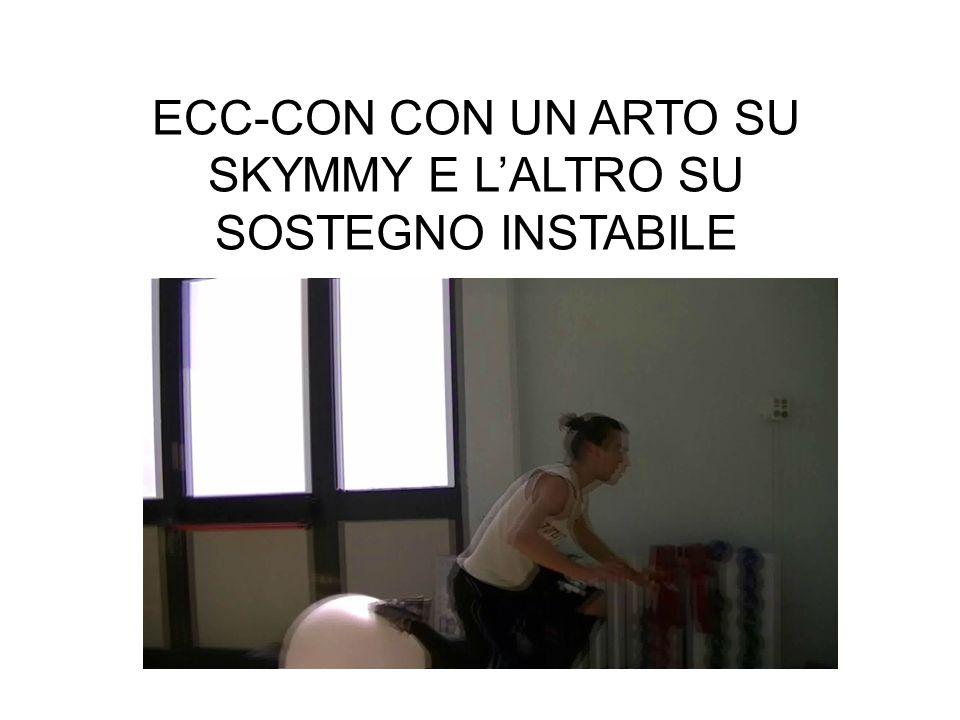 ECC-CON CON UN ARTO SU SKYMMY E LALTRO SU SOSTEGNO INSTABILE