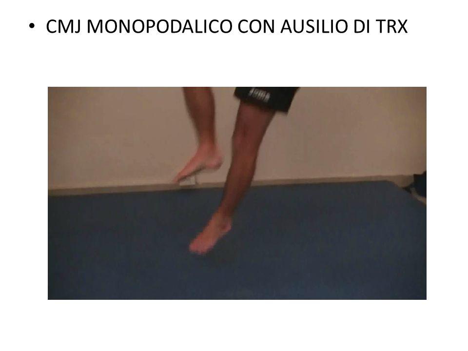 CMJ MONOPODALICO CON AUSILIO DI TRX