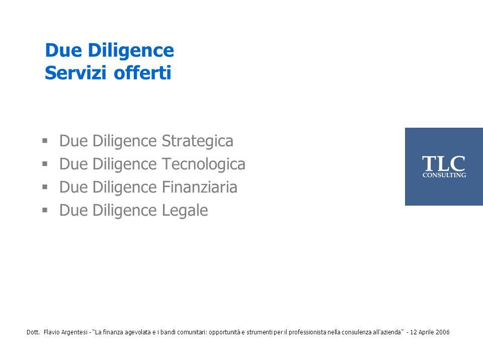 Dott. Flavio Argentesi - La finanza agevolata e i bandi comunitari: opportunità e strumenti per il professionista nella consulenza all'azienda - 12 Ap