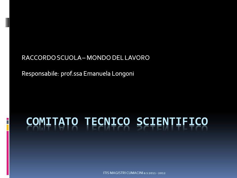 COMITATO TECNICO SCIENTIFICO D.P.R.15 marzo 2010 n.88 art.