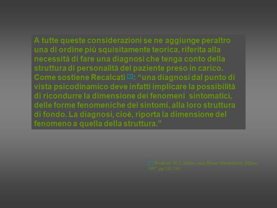 E come afferma Bonamini [2] : lanoressia e la bulimia, come anche lobesità, non indicano la struttura del soggetto ma una sua «espressione fenomenologica».