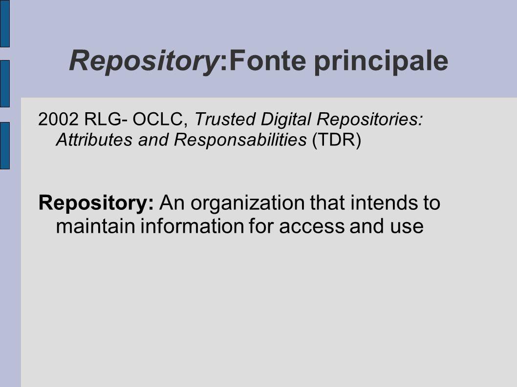 Conservazione di archivi digitali Non solo conservazione di documenti, ma conservazione di archivi, con tutte le relazioni di contesto e di struttura In questa fase si gestiranno le descrizioni relative ai livelli di aggregazione logica (fondo, serie…) secondo le specifiche ISAAR e ISAD e si procederà alla generazione della struttura descrittiva.