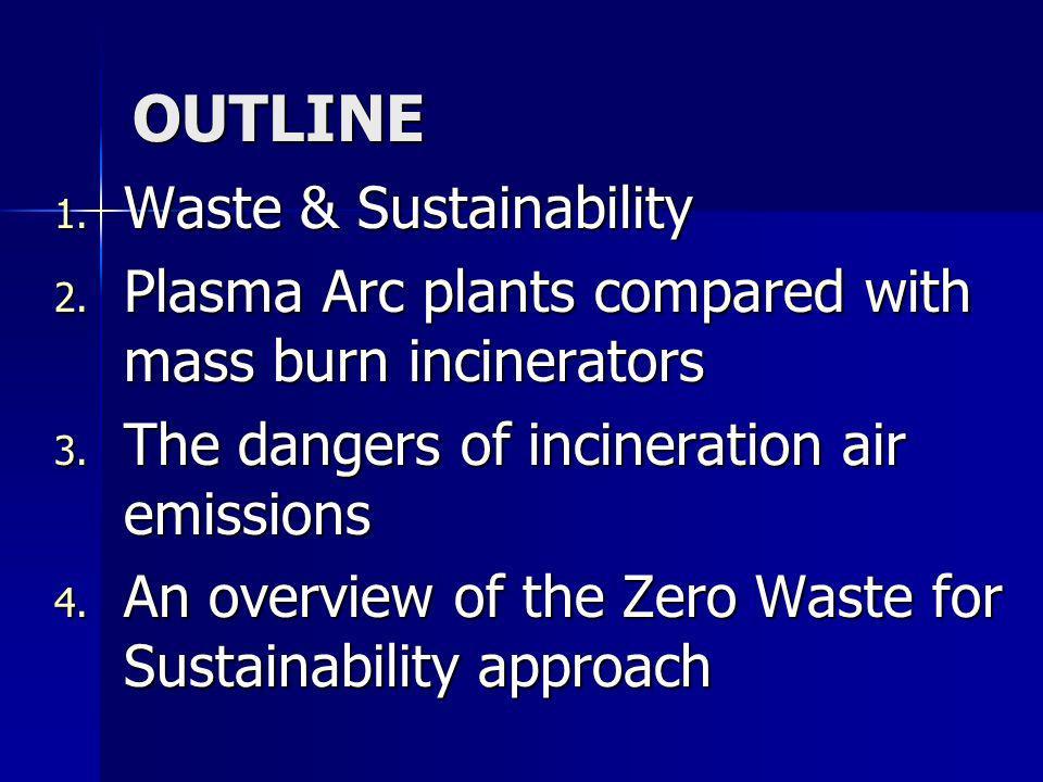 Emissioni tossiche nellatmosfera CO2 + H2O GAS ACIDI: HCI, HF, SO 2 NO x metalli tossici metalli tossici : Pb, Cd, Hg, etc
