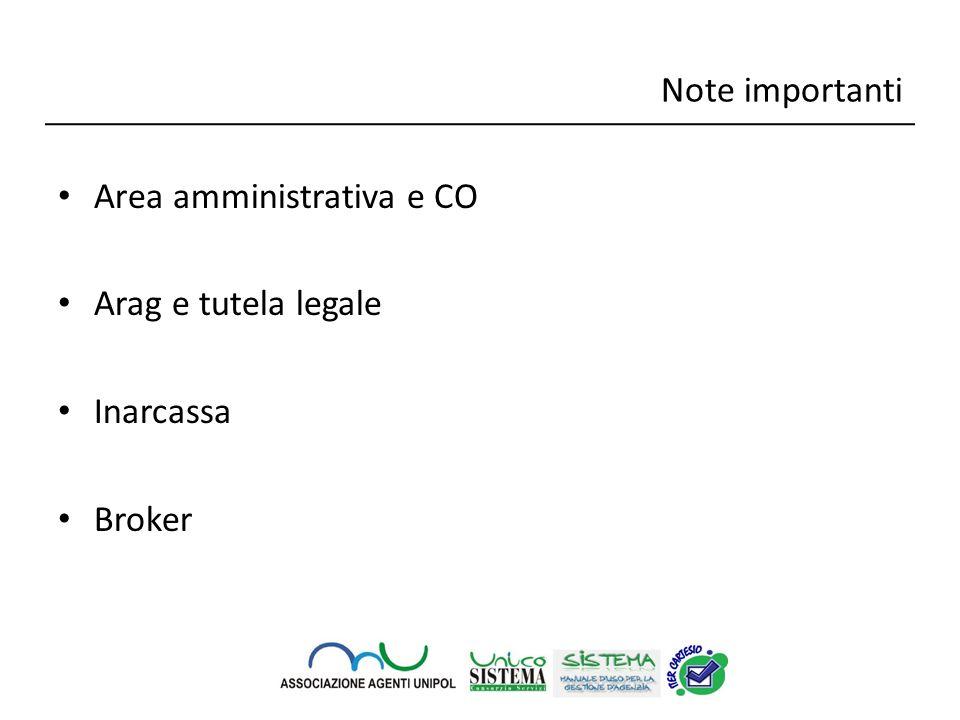 Area amministrativa e CO Si scontrano varie tesi, in particolare: si versa sul conto separato ex art.