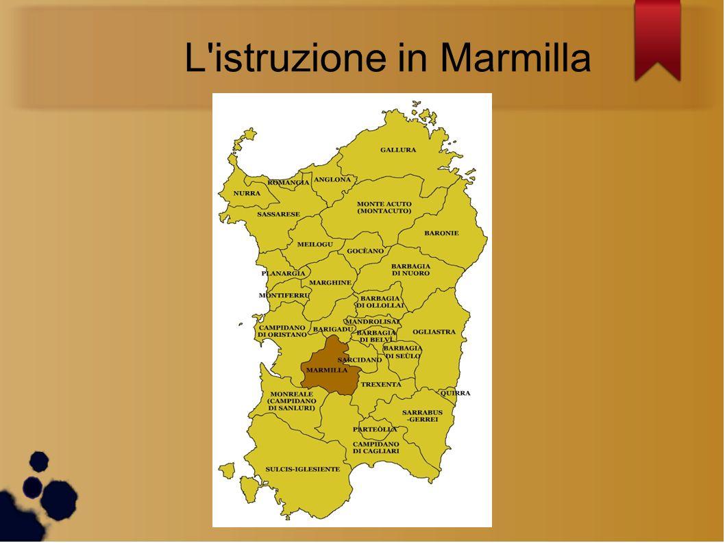 L'istruzione in Marmilla
