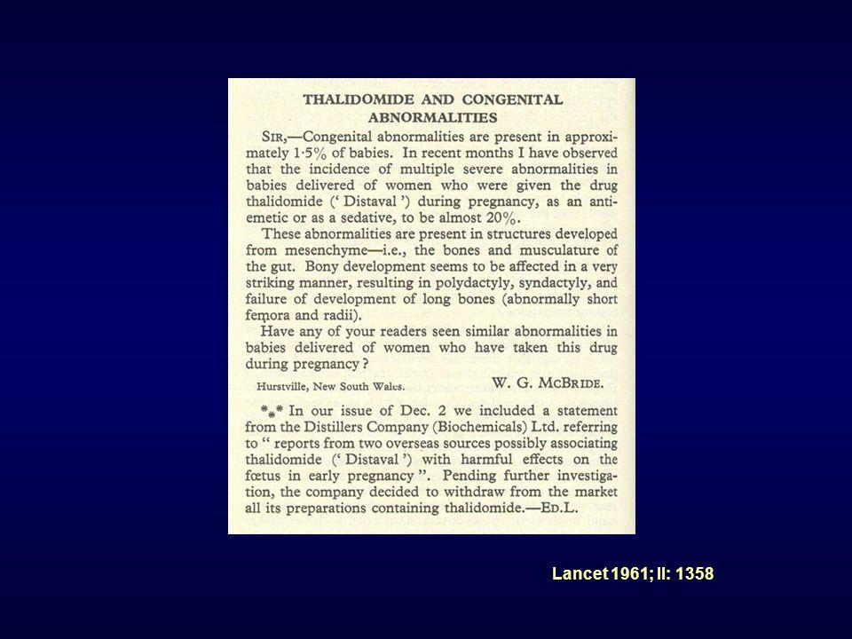Lancet 1961; II: 1358