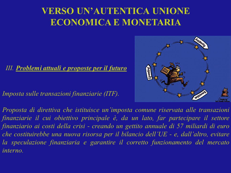 Imposta sulle transazioni finanziarie (ITF). Proposta di direttiva che istituisce unimposta comune riservata alle transazioni finanziarie il cui obiet